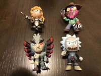 Rick and Morty Mystery Mini Series 2 LOT OF 4