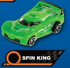 McDonald's happy MEAL toy..HOTWHEELS. < Spin King>. © McD 2018