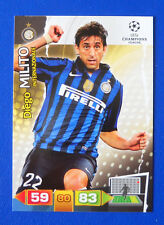 CARD PANINI ADRENALYN CHAMPIONS LEAGUE 2011/12 - MILITO - INTER