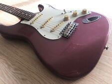Fender Stratocaster CIJ Burgundy Mist w/ Matching Headstock ST62-80TX-MH Japan