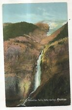 Takakka Falls, Yoho Valley, FIELD BC Vintage British Columbia Postcard