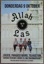Allah-Las 2014 Gig Poster Amsterdam Concert Netherlands