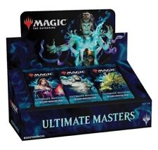MTG Ultimate Masters Booster Box factory Sealed New With Box Topper