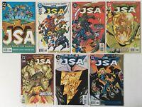 JSA Justice Society of America #s 1 2 3 4 5 6 7 Run Lot of 7 DC Comics 1999-2000