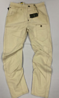 G-Star Alcatraz 3D Loose Tapered Jeans Khaki Mens Size UK W30 L32  *REF161