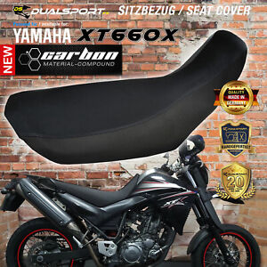 "YAMAHA XT 660 X R Sitzbezug, Seat Cover ""CARBON"" passend für XT660 R X bx DSFX"