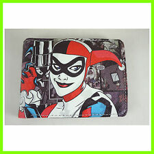 Movie The Joker Harley Quinn Leather Short Wallet Purse Bi-Fold FREE SHIP +BADGE