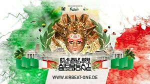 AirBeat One 2021 VIP Camping Ticket: Destination Italy