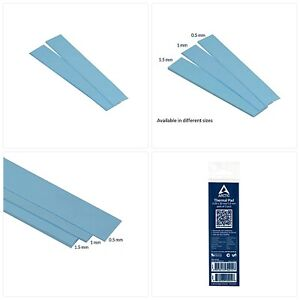 ARCTIC Thermal Pad 120 x 20 x 1.0 mm (Pack of 2) - Thermal Compound for All Cool