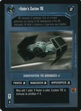 Vader's Custom TIE  FOIL  Star Wars CCG REFLECTIONS  NM swccg