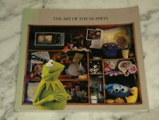 1980 1st Edition The Art of The Muppets JIM HENSON Paperback Book VINTAGE Retro