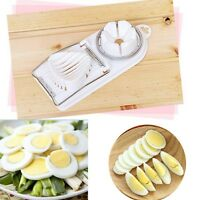 New Egg Mold Multifunction Cooking Cut Cutter Kitchen Tools 2 In 1 Egg Slicer