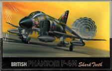 Fujimi 1:72 British Phantom F-4M Shark Teeth Plastic Aircraft Model Kit #7A-H9