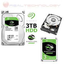 HARD-DISK INTERNO 3.5 SEAGATE 3TB ST3000DM007 BARRACUDA SATA III 5400RPM 64MB