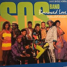 SOS • Borrowed Love • Vinile 12 Mix • 1986 TABÙ