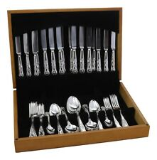 More details for walker & hall cutlery - kings pattern - 60 piece canteen for 8