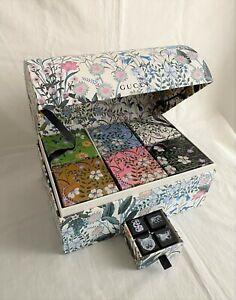 Gucci 2017 floral box for garden snake eye star tiger tray candle mug cushion
