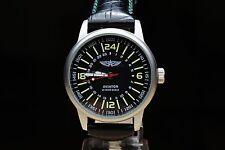 Wrist Watch POLJOT AVIATOR 24hours Military Mechanical Russian