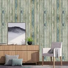 Wood Wallpaper Rustic Self-Adhesive Removable Faux Wood Peel and Stick Wallpaper