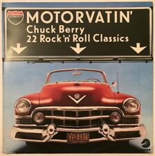 CHUCK BERRY MOTORVATIN' LP CHESS UK EX+ CONDITION PRO CLEANED