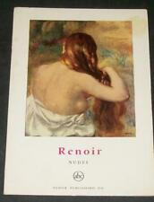 Renoir Nudes Petite Encyclopédie de L'Art #26 Color Plates Blond Girl Bathing