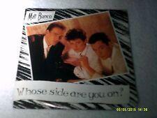MATT BIANCO WHOSE SIDE ARE YOU ON?  PROMO 45 1985 NM ATLANTIC