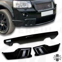 HST style front bumper styling kit for Freelander 2 lower body in Gloss Black