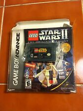 Game boy Advance game Lego Star Wars II the Original Trilogy GBA Original box