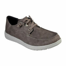 Skechers Mens Melson Volgo Casual Shoes Brown > CHOOSE SIZE > NEW