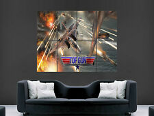 TOP GUN MOVIE TOM CRUISE FIGHTER JETS  MOVIE  WALL POSTER ART PICTURE PRINT