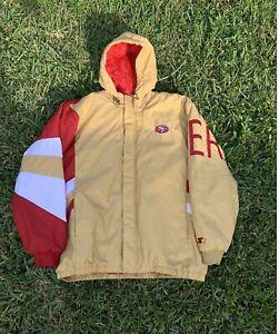 vintage san francisco 49ers starter jacket size XXL jerry rice