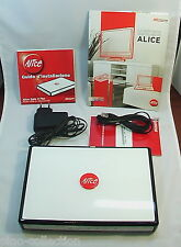 MODEM Telecom ALICE gate 2 plus ADSL / ethernet USB del 2007 COME NUOVO