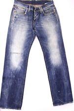 Tommy Hilfiger Rogar KIV Herren Jeans Hose Gr. W31 L34 Blau Knopfleiste Vintage