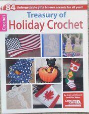 Leisure Arts TREASURY OF HOLIDAY CROCHET  book ON SALE