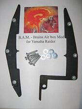 Brain's Air box Mod for Yamaha Raider Motorcycles