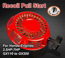 Recoil pull Start  For Honda Stationary Engine GX120, GX200 5.5HP, 6.5HP