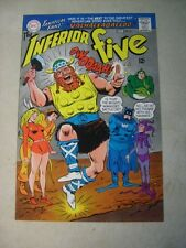 Inferior Five #4 Cover Art, original approval cover proof, 1960's