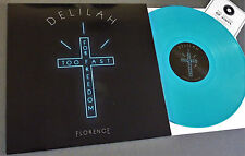 """RSD 12"""" BLUE VINYL FLORENCE & THE MACHINE DELILAH Record Store Day DEMO + Mp3"""