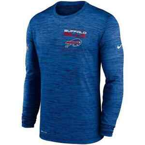 New 2021 Buffalo Bills Nike Sideline Velocity Legend Performance Long T-Shirt