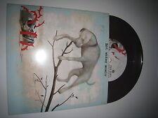 "HOT WATER MUSIC The Fire. The Steel. The Tread 7"" Brown Vinyl RAR (Boysetsfire)"