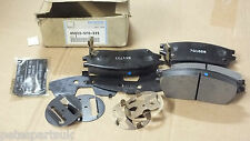 Genuine Honda 86-92 Prelude front brake disc pads 45022-SF0-525  New A7