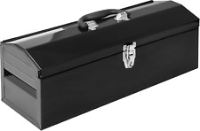 Torin Atb101b 19 Hip Roof Style Portable Steel Tool Box With Metal Latch And