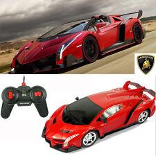 Elektro Lamborghini 1:16 ferngesteuert Modell Auto RC Car mit LICHT Spielzeug