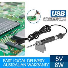 Mini Portable USB Powered SOLDERING IRON Tool 5V 8W LED Indicator