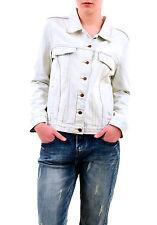 One Teaspoon Women's Xanthe Rock N Roll Denim Jacket Washed Blue S RRP$158 BCF75