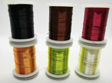 0.2mm Medium Wire, 18m Spool for Fly Tying, Rib (Ribbing) Material by Rede River