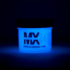 MX24, BLUE Extreme Glow in the Dark Paint Daytime Invisible Range 2oz