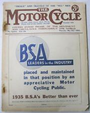 Motor Cycle 2 May 1935 Motorcycle Magazine New Imperial Road Test Scottish TT++