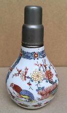 Lampe Berger Ancienne Porcelaine Bocquillon Décors Kakiemon Chantilly 1930