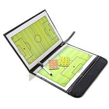 Magnetic Football Soccer Coach Coaching Aid Dry Erase Clipboard Tactical Board
